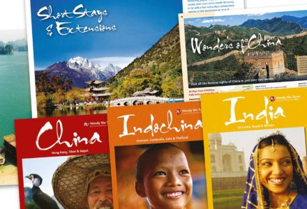 Wendy Wu travel brochures