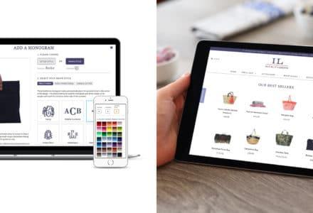 Initially London bespoke ecommerce website